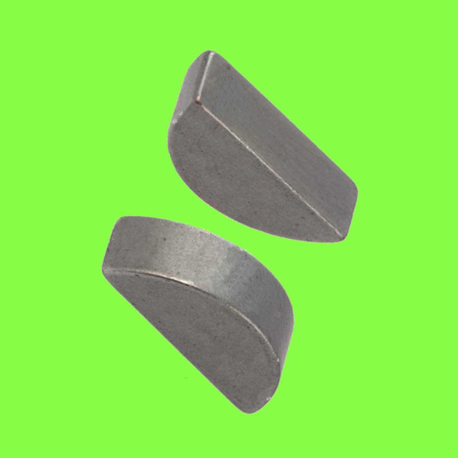 Clavettes Disques Demie-Lune (Woodruff) DIN 6888