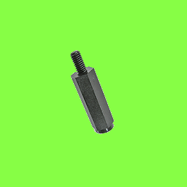 Entretoises Mâles Nylon PA6.6 Noir