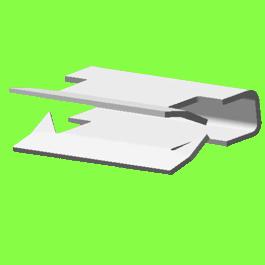 Clip Métal Pour Panneaux - Metal Panel Clips
