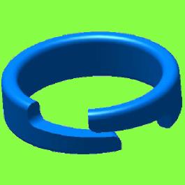 Anneau Ressort Métallique - Metal Spring Ring