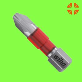 Embouts MaxxTor de 29 Pozidriv forme C 6,3