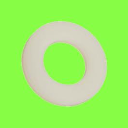 Rondelle Plate Nylon Naturel PA6-6 DIN 125