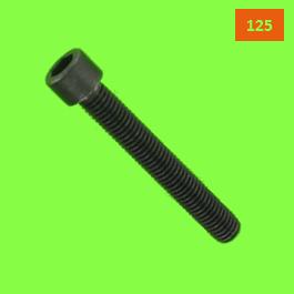 Tête Cylindrique Hexagonale Creuse Din 912 Pas de 125