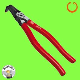 Pince pour Circlips Intérieurs Classic (alésages) avec Wiha MagicTips®