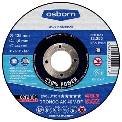 DISQUE A TRONCONNER PLAT 125X1.6X22.2 AK46V CERAMAXX 1121-512.100