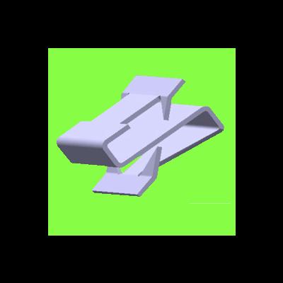 Clip Double S - S Clip Double
